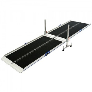 Wheelchair RampKit High-Rise Portable Long Ramp Kit